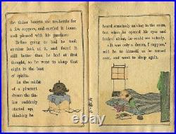 1894 Wonderful Tea Kettle TAKEJIRO Japanese Original Woodblock Print Crepe Book