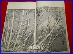 3-50 HOKUSAI Fugaku Japanese ukiyoe Woodblock print 3 BOOK s