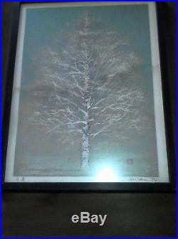 3 (Three) Joichi Hoshi (1913-1979) Japanese Woodblock Prints collection