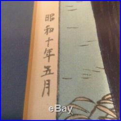 Amazing Original Japanese Woodblock Prints Kawase Hasui And Other Unidentified