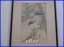 Bertha Lum Woodblock Print Rare Land Of The Bluebird Antique Art Deco Japanese