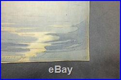 Extremely Rare And Beautiful Bertha Lum Woodblock Print Tanabata
