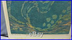 Fumio Fujita Japanese Woodblock Print Modern 1968