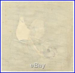 Gekko Ogata, Doves, Bird, Original Japanese Woodblock Print, Japanese Antique