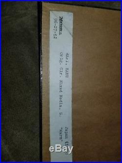 Haku Maki, 1924- Japanese Woodblock Print Signed Wood Block Etchinng! EXCELENT