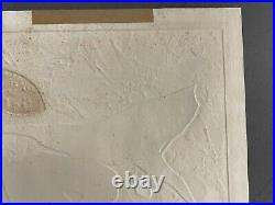 Haku Maki Japanese Embossed Woodblock Print Poem 70-4 Signed #146/202