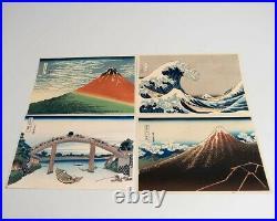 Hokusai Thirty-Six Views of Mount Fuji & Ten Additional Views Woodblock Prints
