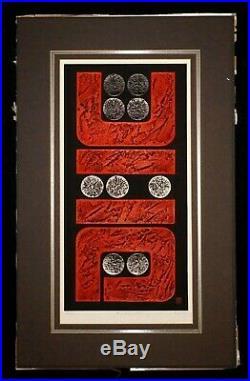 Japanese Color Woodblock Print 76-36 Work by Maki Haku (19242000) (NoN)