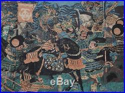 Japanese Ukiyo-e Nishiki-e Woodblock Print 1-143 Utagawa Kuniyoshi 1815-1842