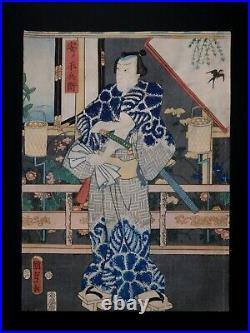 Japanese Ukiyo-e Nishiki-e Woodblock Print 3-878 Utagawa Kunisada1857