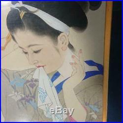 Japanese Ukiyo-e Nishiki-e Woodblock Print Painting T2911