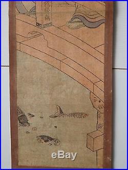 Japanese Ukiyo-e Nishikie Woodblock Print 2-482 Isoda Koryusai Late 18th century