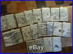 Japanese Woodblock Print Books 1st Ed EHON TOYOTOMI KUNKOUKI Artist KUNIYOSHI