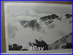 Japanese Woodblock Print By Okuyama Gihachiro