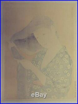 Japanese Woodblock Print Hashiguchi Goyo