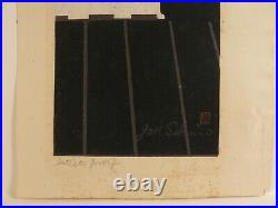 Japanese Woodblock Print Junichiro Sekino