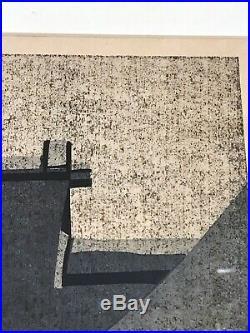 Japanese Woodblock Print by Masao Ido Katsura Imperial Villa