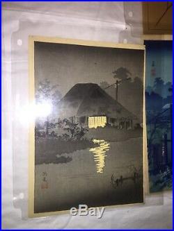 Japanese woodblock print original