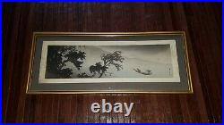 Japanischer-Farbholzschnitt- Old Japanese Woodblock print Yamamoto Shoun