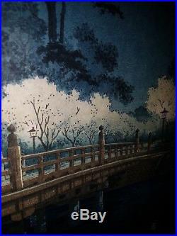 Japanischer-Farbholzschnitt- Old Japanese woodblock print Tsuchiya Koitsu