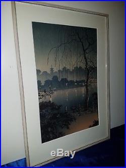 Japanischer-Farbholzschnitt- Old Japanese woodblock print Tsuchiya Koitsu Nr. 2