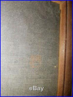 Japanischer-Farbholzschnitt- Old Japanese woodblock print Uehara Konen Rare