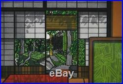 KARHU CLIFTON Tomiyo GARDEN Ukiyo-e Nishiki-e Woodblock Print