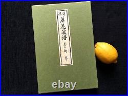 KONAN European Flowers Woodcut album KUSABANA ZUFU SE Woodblock print Book #1