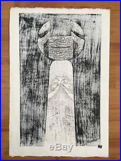 Kaoru Kawano Original Woodblock Japanese Print
