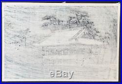 Kawase Hasui Wakanoura Japanese woodblock print c. 1930s