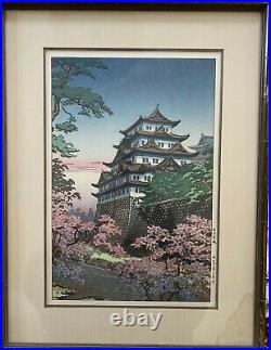 Koitsu Tsuchiya Japanese Woodblock Nagoya Castle