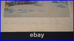 Lot of 2 Tokuriki Tomikichiro Vintage Original Woodblock Prints
