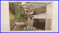 Masao Ido Japanese Woodblock print Ukiyo-e Ukiyoe Signed Rare Vintage Collector