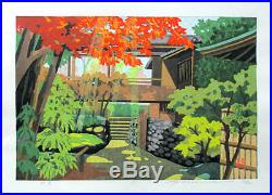 Masao Ido Japanese Woodblock print Ukiyo-e Ukiyoe Signed Vintage Collector Rare