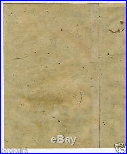 Orig YOSHITORA EDO Antique JAPANESE Woodblock Diptych Print SAMURAI Battle