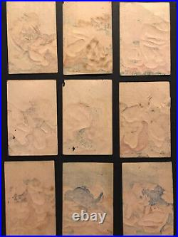 Original Japanese Woodblock Print x50 Shunga Playing Cards(Ogura Hyakunin Isshu)