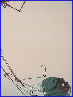 Original Watanabe Seitei (Shotei) Japanese Woodblock Print SEITEI KACHÔ-CHÔ