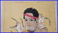 Paul Jacoulet BASILIO First Edition 120/150 Japanese Woodblock