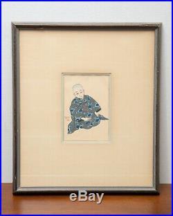 Paul Jacoulet Kiyoshi Tokio Original Woodblock Print 1939