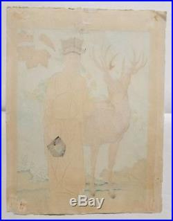 Paul Jacoulet Longevite Coree-Moppo Japanese Woodblock print