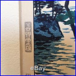 Shiro Kasamatsu Woodblock Print 9.5 x 14.5 First Edition Mid Century