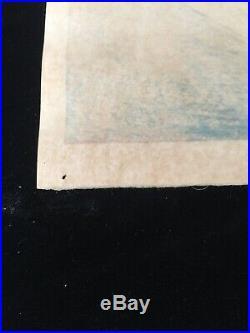 Takahashi Hiroaki Shotei Japanese Woodblock Print Hasui Yoshida Koitsu Watanabe