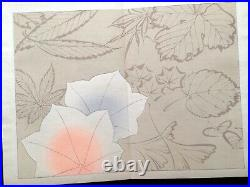 Tale of Genji kimono pattern GOSYODOKI Woodcut album Woodblock print Book JPN #3