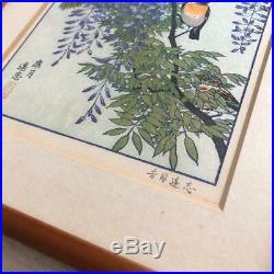 Toshi Yoshida Japanese Woodblock print Signed Ukiyo-e Ukiyoe Vintage Rare