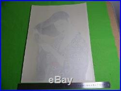 Ukiyo-e Japanese woodblock print GOYOU HASHIGUCHI