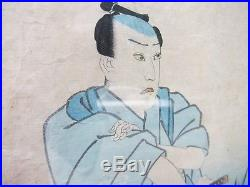 Utagawa Kunisada ORIGINAL JAPANESE WOODBLOCK PRINT