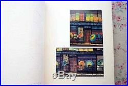 Vintage 1975 CLIFTON KARHU Book With 1 Original Ukiyo-e Woodblock Print Rare