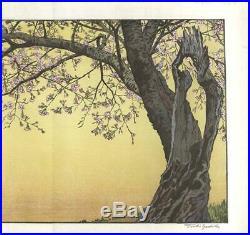 Yoshida Toshi #017003 Sanbu zaki Japanese Traditional Woodblock Print