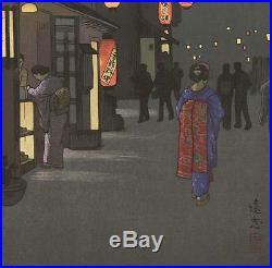 Yoshida Toshi #018501 Hyoroku Japanese Woodblock Print