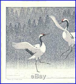 Yoshida Toshi JAPANESE Woodblock Print HANGA Seirei SHIN HANGA